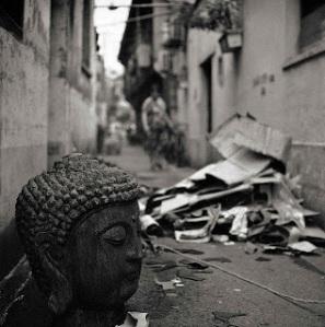 abandoned buddha
